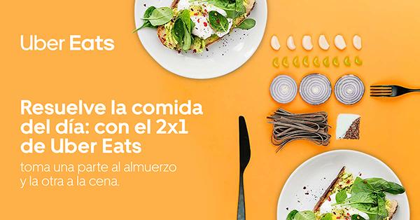 """Uber Eats lanza la promoción """"Donde come uno, comen dos"""" - City Magazine"""